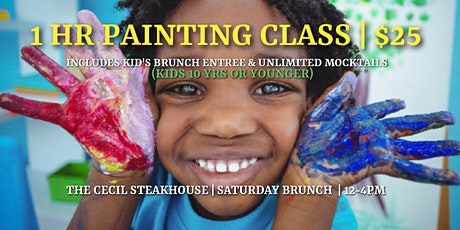 """Finding The Next PICASSO"" PAINTING CLASS FOR KIDS tickets"