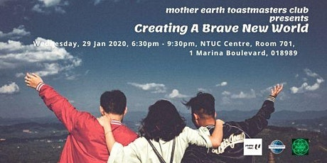 Creating A Brave New World tickets