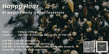 Happy Hour - AI Startups Meet Family Office Investors tickets