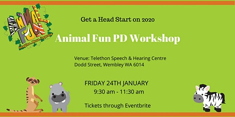 Improving Motor Skills with the Animal Fun Program tickets