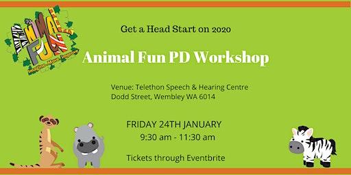 Improving Motor Skills with the Animal Fun Program