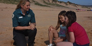 CANCELLED Junior Rangers Beach Treasure Hunt- Point...