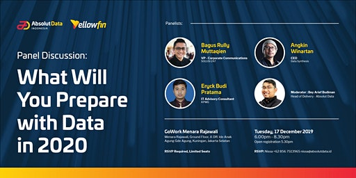 PANEL DISCUSSION : What Will You Prepare With Data in 2020