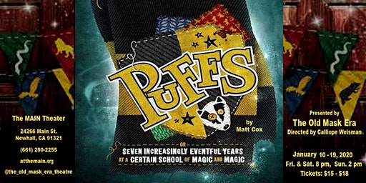 PUFFS (or, Seven Increasingly Eventful Years at a Certain School of Magic and Magic)