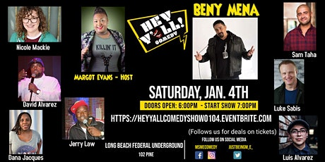 Hey Y'all Comedy Show tickets