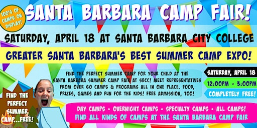 Santa Barbara Summer Camp Fair at Santa Barbara City College