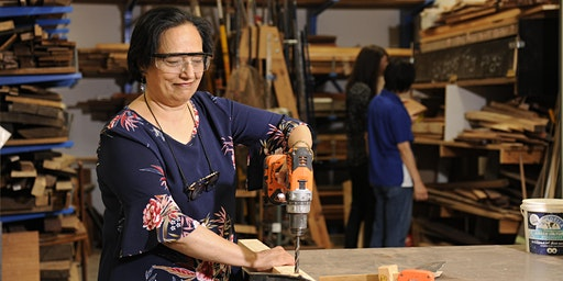 Women's Shed:  DIY Drilling
