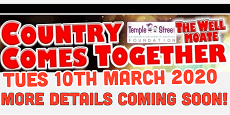 Country Comes Together In Aid Of Temple Street Childrens Hospital tickets
