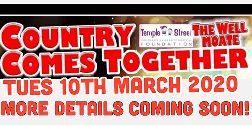 Country Comes Together In Aid Of Temple Street Childrens Hospital