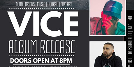 Vice Album Release tickets