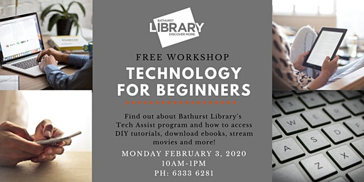 Technology for Beginners: Free workshop