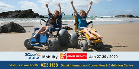 WheelEEZ® Mobility at Arab Health tickets