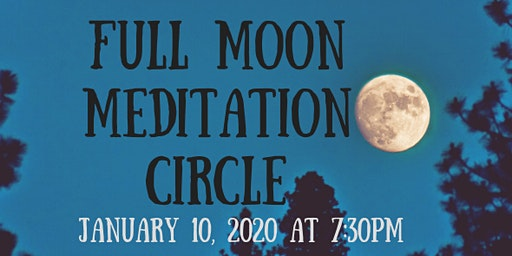 Full Moon Meditation with Sam Black, Psychic Medium