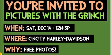 FREE Pictures with the Grinch tickets