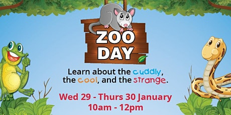 Zoo Days in the Centre tickets