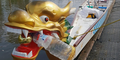 Yarra River Dragons Blitz Cleanup - Free Paddle against Plastic in a Dragon Boat