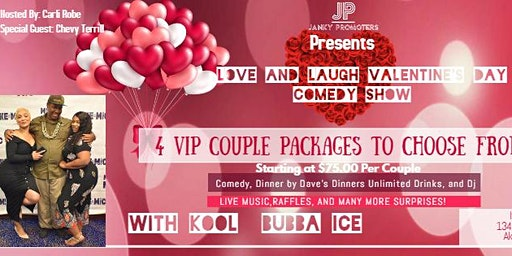 Love and Laugh Valentine's Day Comedy Show