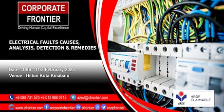 Electrical Faults Causes, Analysis, Detection & Remedies tickets