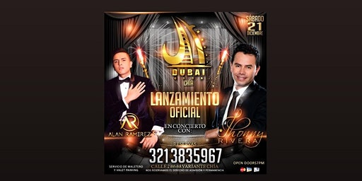 Concierto Jonny Rivera Y Alan Ramírez