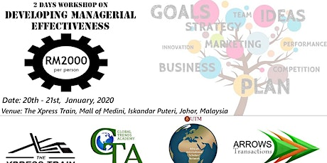 2 days workshop on Developing Managerial Effectiveness tickets