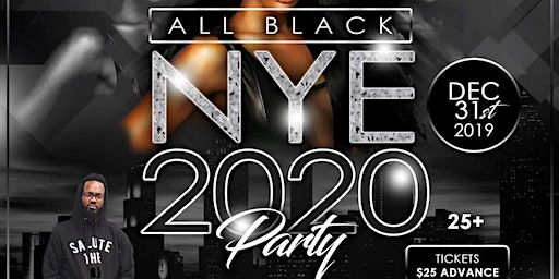 All Black New Years Eve 2020 Party