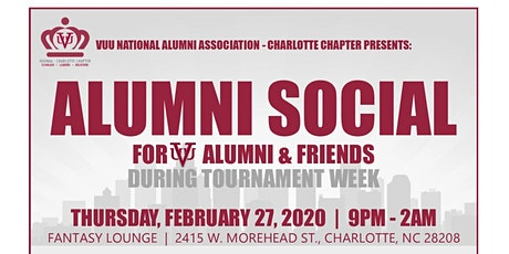 VUU Alumni Social - 2020 Tournament Week tickets