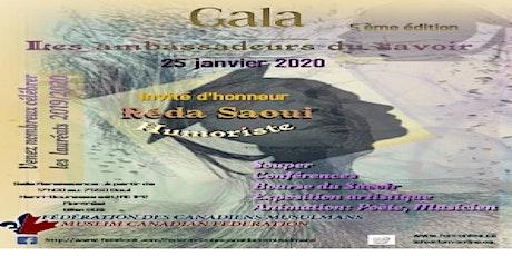 Gala Des Ambassadeurs Du Savoir 5 ème Édition  billets
