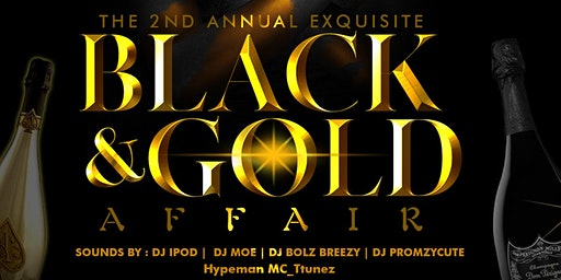 The 2nd Annual Exquisite BLACK & GOLD