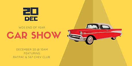 WDS End Of Year Car Show tickets