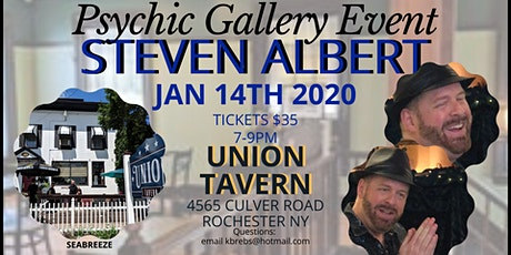 Steven Albert: Psychic Gallery Event - Union Tavern  1/14 tickets