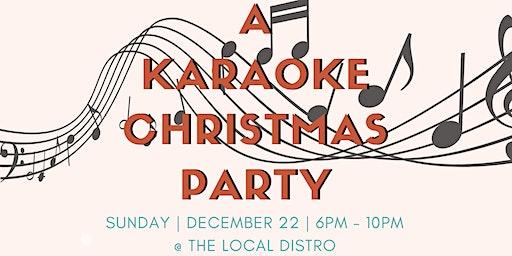 A Karaoke Christmas Party