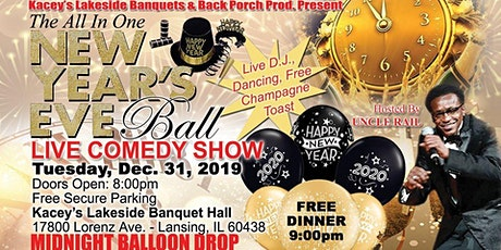Uncle Rail's New Year's Eve Comedy Ball tickets