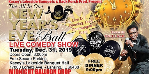 Uncle Rail's New Year's Eve Comedy Ball