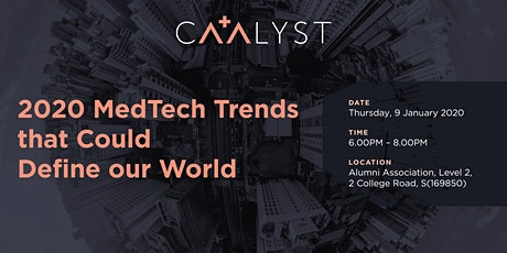 2020 MedTech Trends that Could Define our World tickets