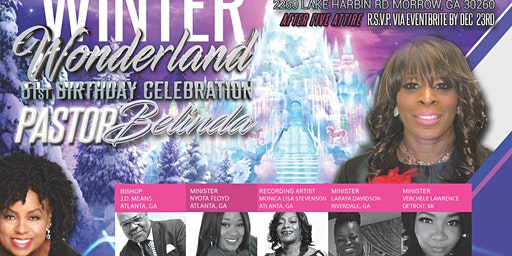 Winter Wonderland Birthday Celebration
