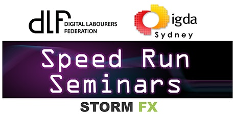 Speed Run Seminars tickets
