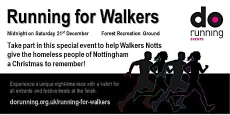 Running for Walkers 2019 tickets