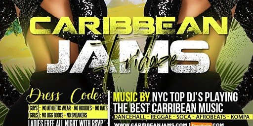 Caribbean Jams Fridays in Queens