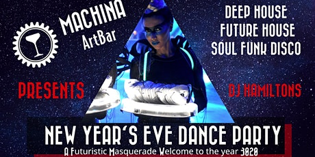 NYE Dance Party: Futuristic Masquerade- Welcome to the year 3020 tickets