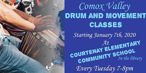 Comox Valley Drumming and Movement Classes for Adults