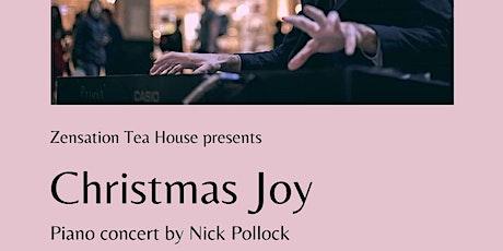 Christmas Joy: Piano Performance at Zensation tickets