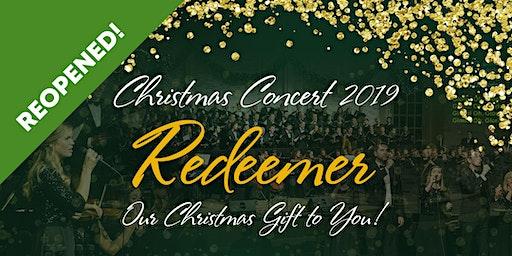 """""""Redeemer""""   Christmas Concert 2019   Word of Grace Bible Church"""