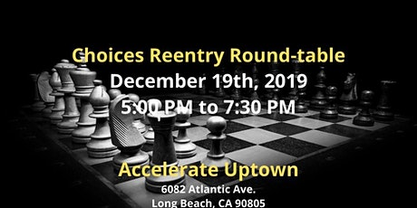 Choices Reentry Workshop & Round-table tickets