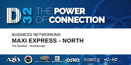 District32 Maxi Express Business Networking Perth - North - Wed 19th Feb tickets