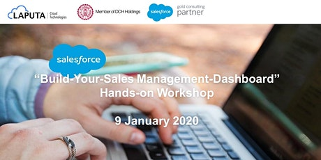 """Build-Your-Sales Management-Dashboard"" Hands-on Workshop tickets"
