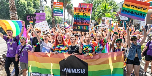 March with Minus18 at Midsumma Pride March 2020