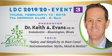 Real World Endo® presents Safety and Simplicity in Root Canal Instrumentation: Myths, Metal and Motion tickets