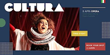 CULTURA - Great Opera Hits by Opera Australia tickets
