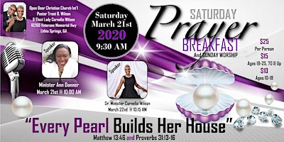 Open Door Christian Church 2nd Annual Prayer Breakfast