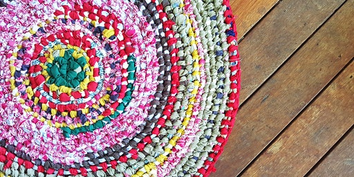 Make your own Boho Rag Rug